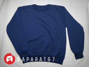 Sweater polos biru dongker, sweater polos online, sweater polos couple